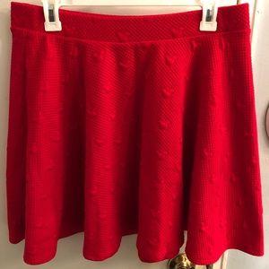 Lauren Conrad Minnie Mouse Skirt